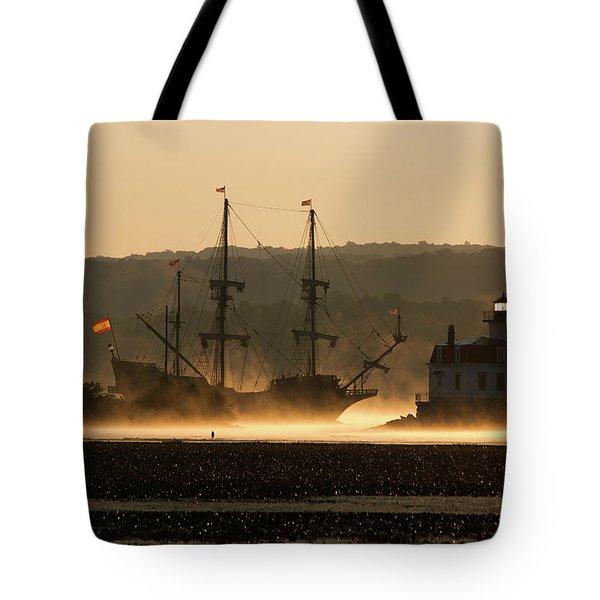 Departure Of El Galeon I Tote Bag