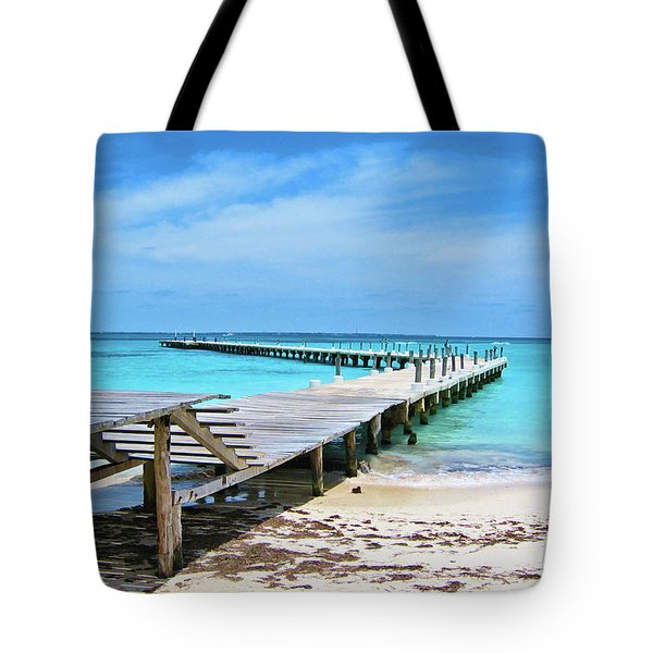 Departure Point Tote Bag