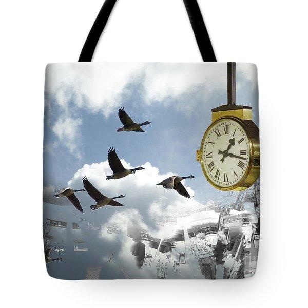 Departures Tote Bag