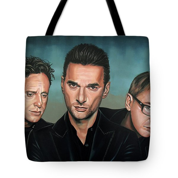 Depeche Mode Painting Tote Bag