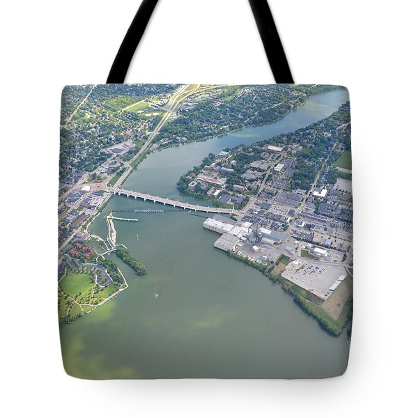 Tote Bag featuring the photograph Depere 3 by Bill Lang