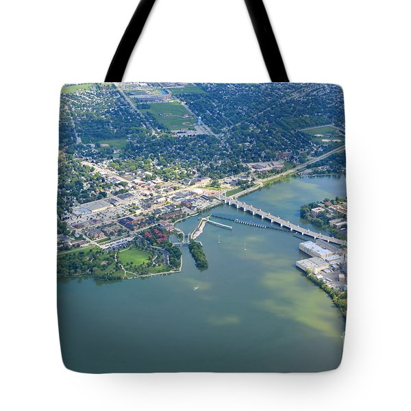 Tote Bag featuring the photograph Depere 5 by Bill Lang