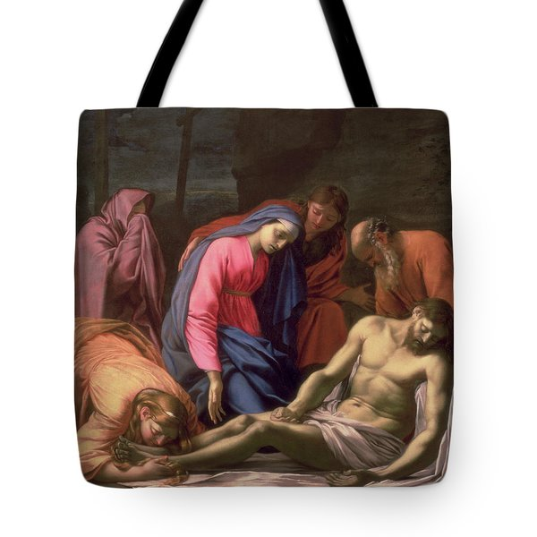 Deposition Tote Bag by Eustache Le Sueur