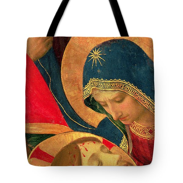 Deposition From The Cross Tote Bag by Fra Angelico