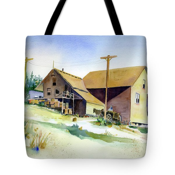 Depot Hill, Dutch Flat,1910 Tote Bag