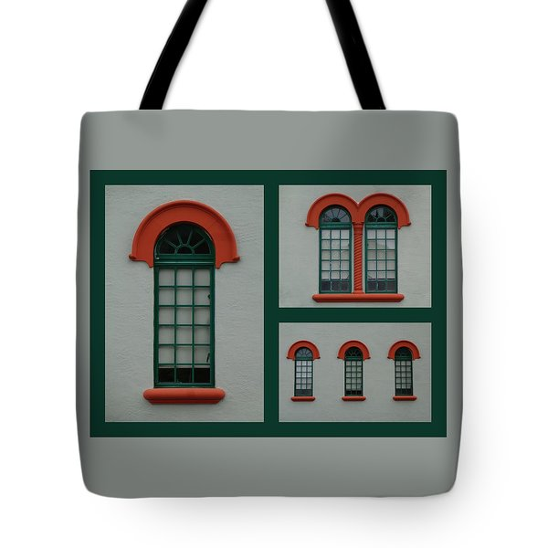 Depot Windows Collage One Tote Bag