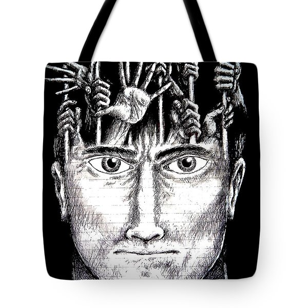 Deprivation Of Freedom Of Expression Tote Bag