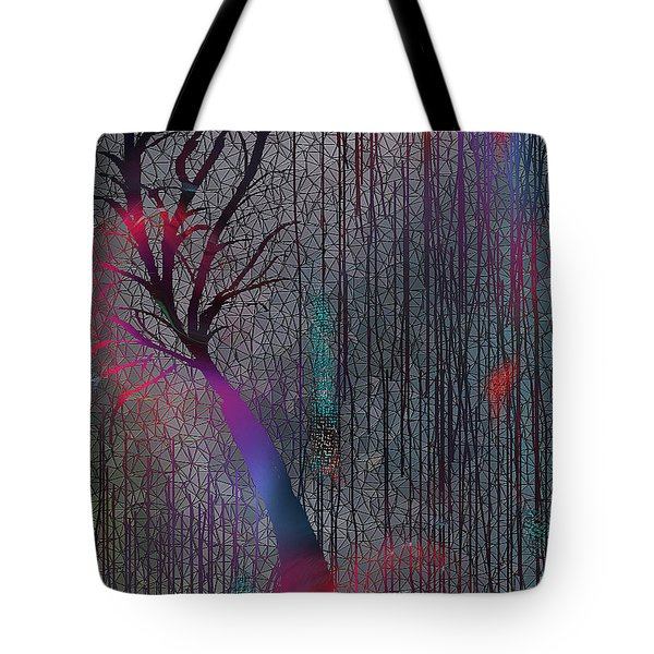 Tote Bag featuring the digital art Depth Of Dreams by Yul Olaivar