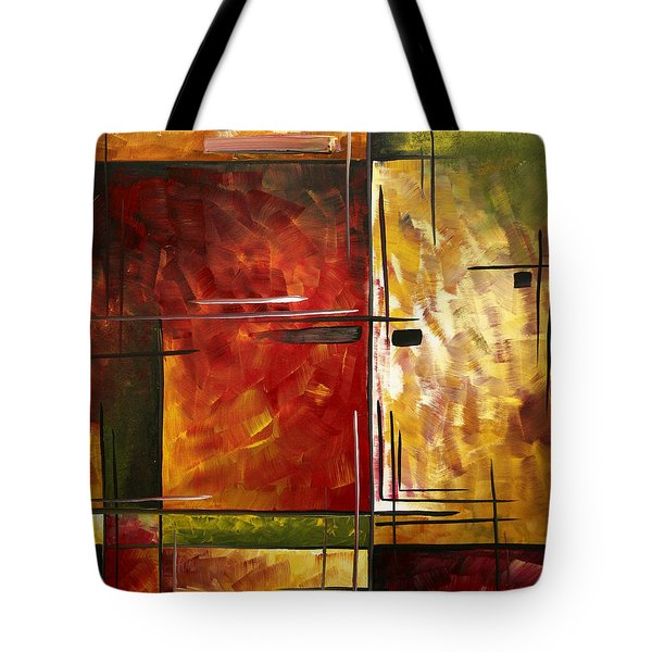 Depth Of Emotion By Madart Tote Bag by Megan Duncanson