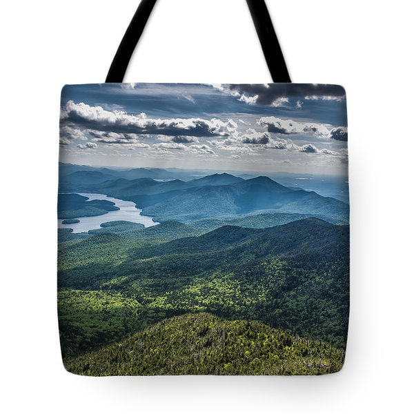 Depth View Tote Bag