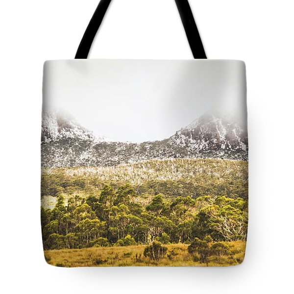 Depths And Ranges  Tote Bag