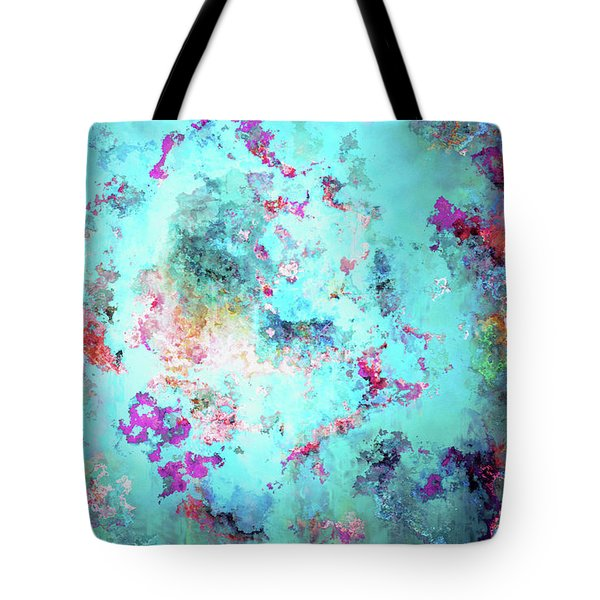 Depths Of Emotion - Abstract Art Tote Bag