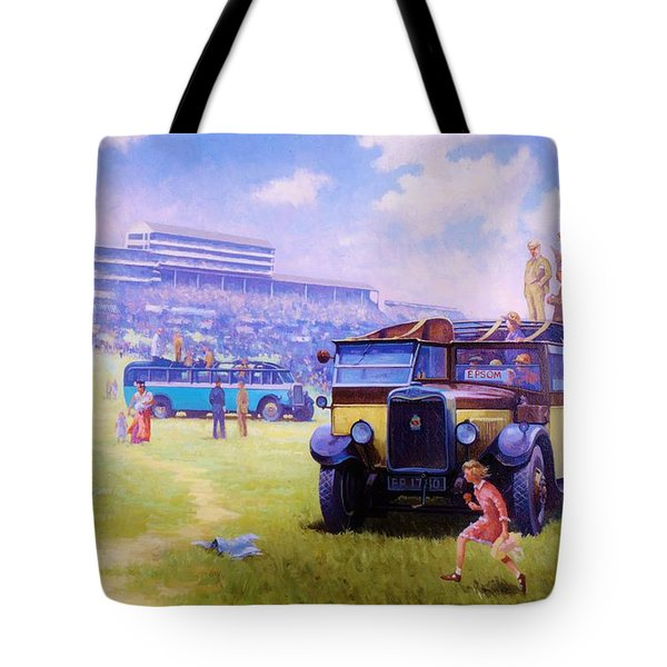 Derby Day Epsom Tote Bag by Mike  Jeffries