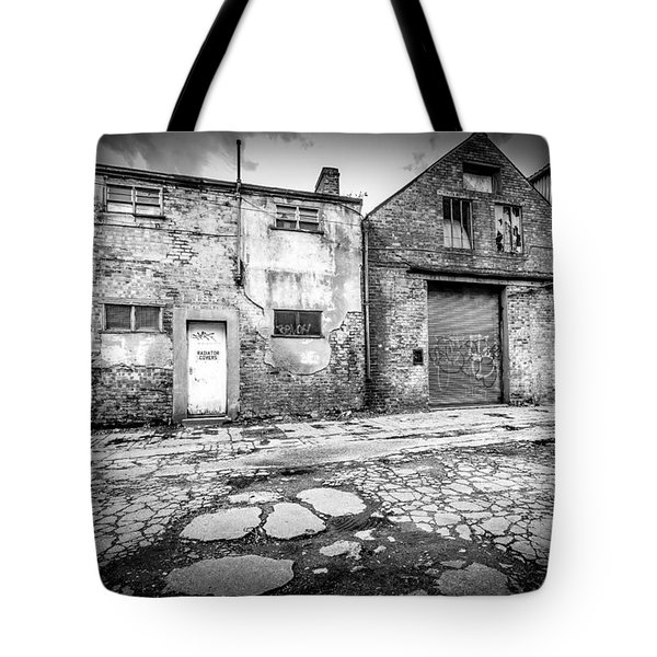 Tote Bag featuring the photograph Derelict Building by Gary Gillette
