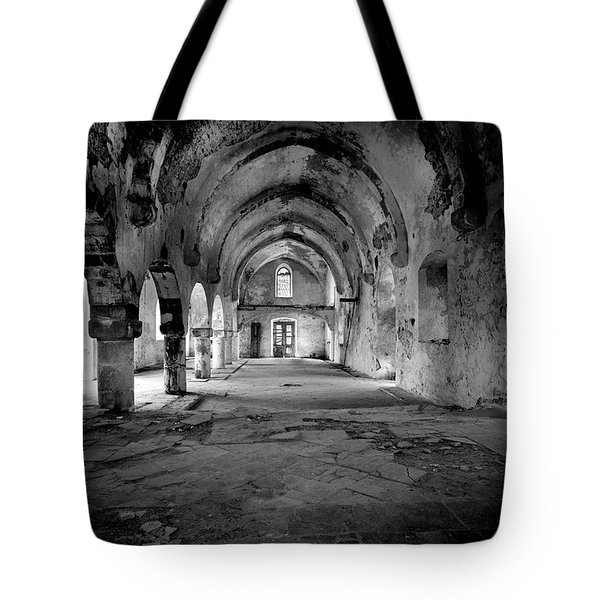 Derelict Cypriot Church. Tote Bag