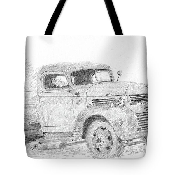 Derelict Dodge Tote Bag