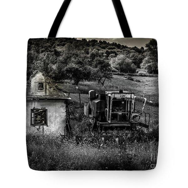 Derelict Farm, Transylvania Tote Bag