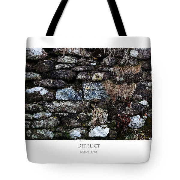 Tote Bag featuring the digital art Derelict by Julian Perry