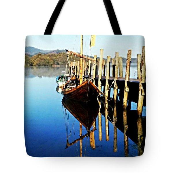 Derwent Water Boat Tote Bag