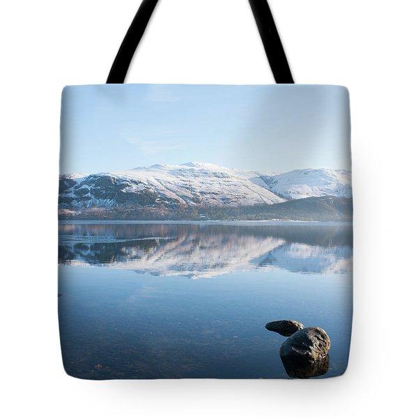 Derwentwater Rocks Tote Bag