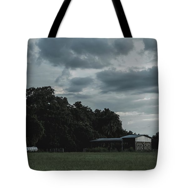 Desaturated Barn Tote Bag