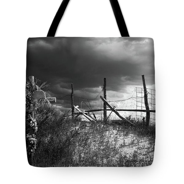 Descanso On Side Of Road Tote Bag