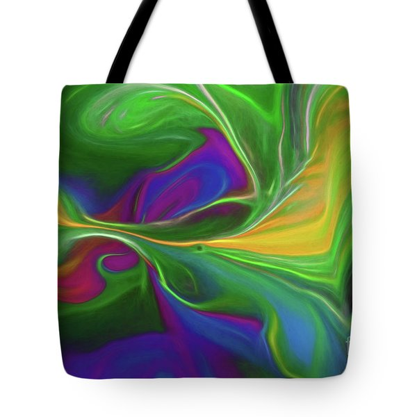 Descending Into Darkness Tote Bag