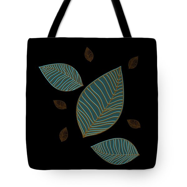 Descending Leaves Tote Bag by Kandy Hurley