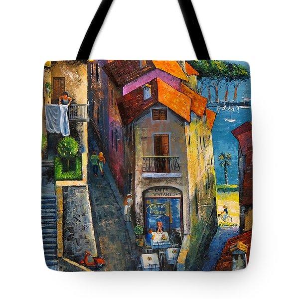 Desenzano Del Garda Tote Bag by Mikhail Zarovny
