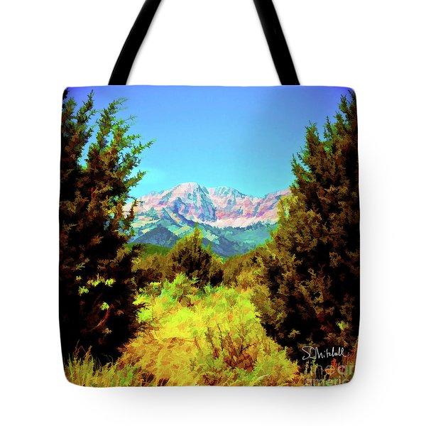 Deseret Peak Tote Bag