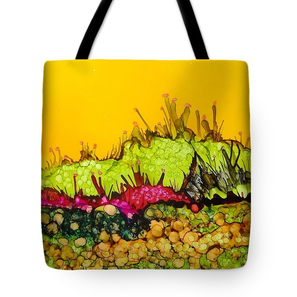 Desert Abstract Landscape Tote Bag