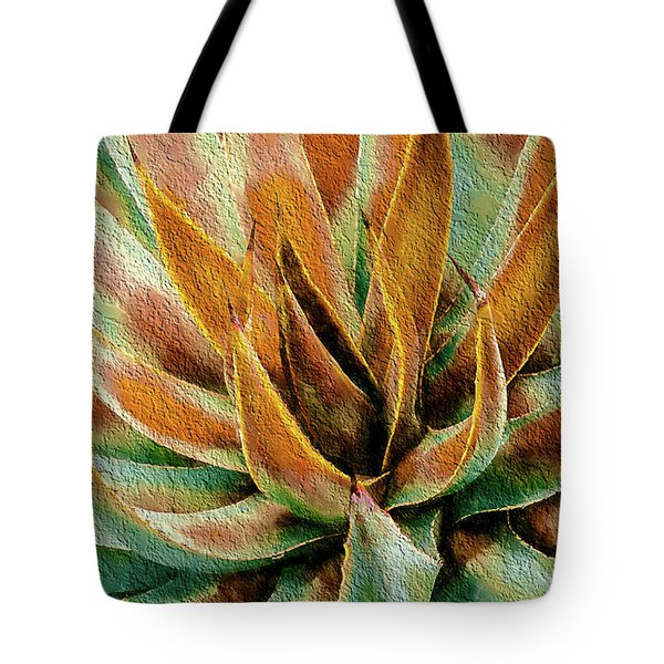 Desert Agave Tote Bag by Julie Palencia