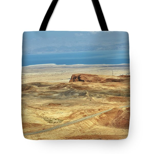 Desert And Dead Sea Tote Bag