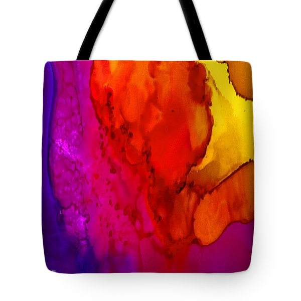 Tote Bag featuring the painting Desert by Angela Treat Lyon