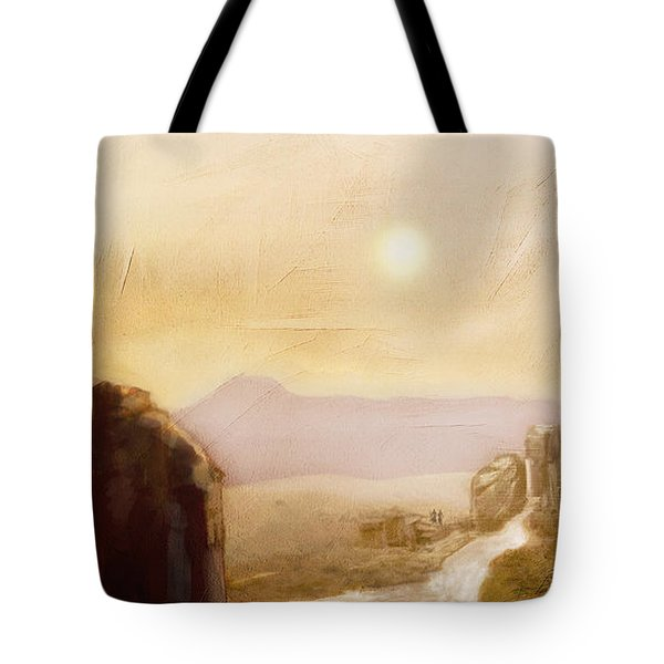 Desert Base - Fantasy Tote Bag