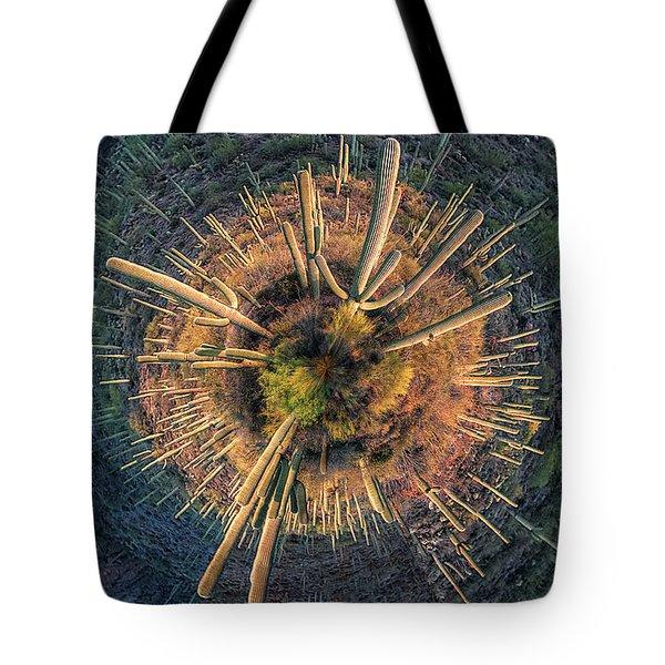 Desert Big Bang Tote Bag
