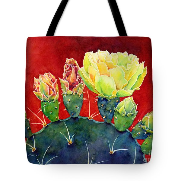 Desert Bloom 3 Tote Bag
