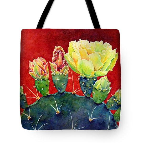 Desert Bloom 3 Tote Bag
