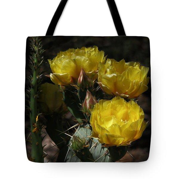 Desert Blooming Tote Bag