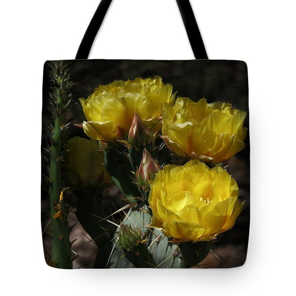 Desert Blooming Tote Bag