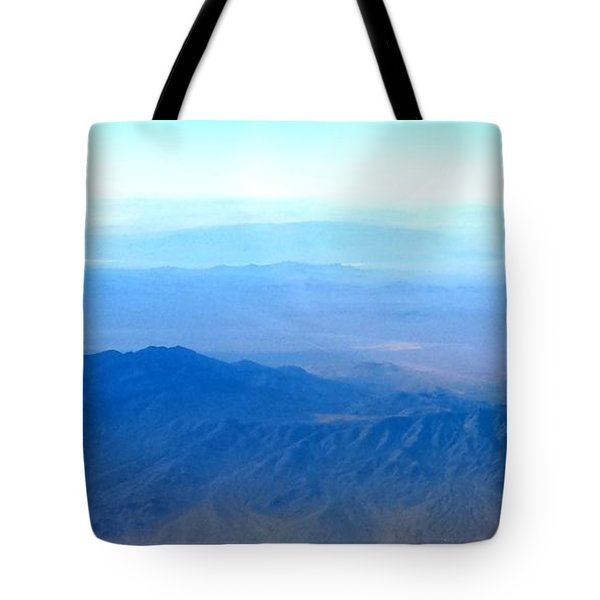 Desert Blues Tote Bag