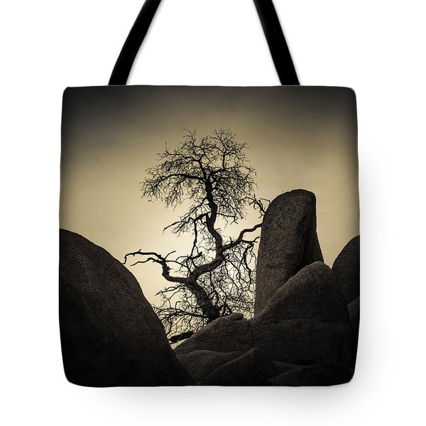 Desert Bonsai Tote Bag