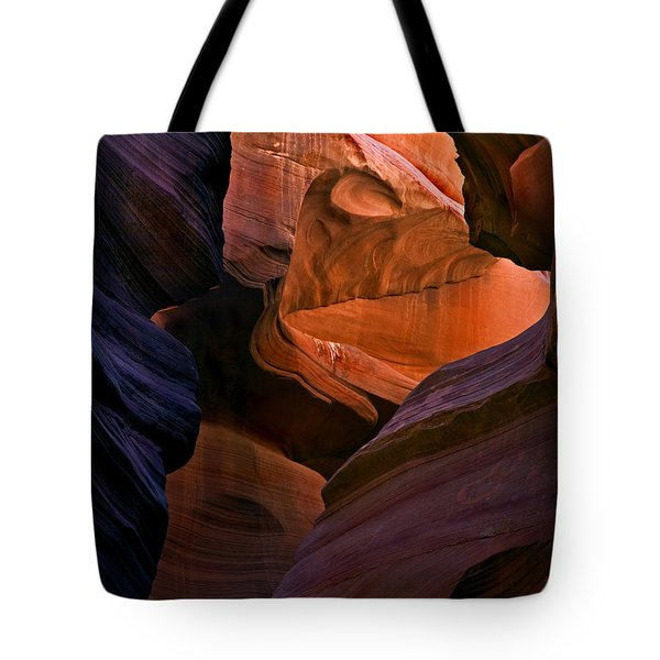 Desert Bridge Tote Bag by Mike  Dawson