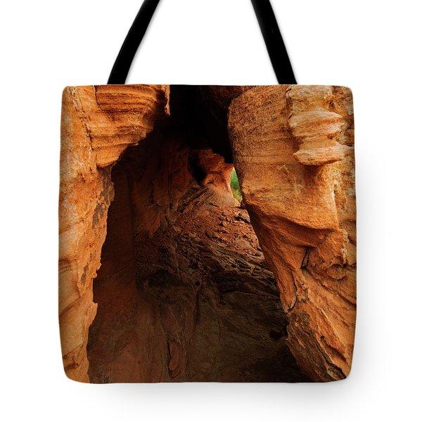 Desert Cavern Tote Bag
