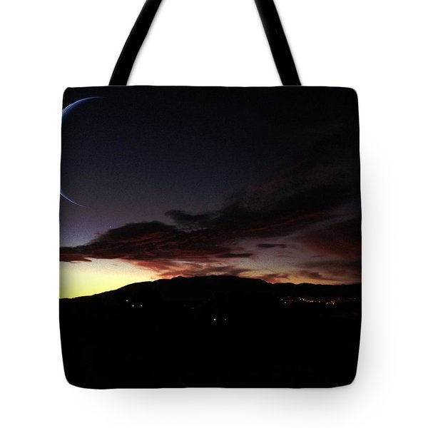 Desert Crescent Tote Bag