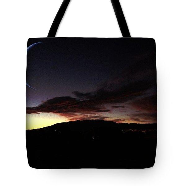 Desert Crescent Tote Bag