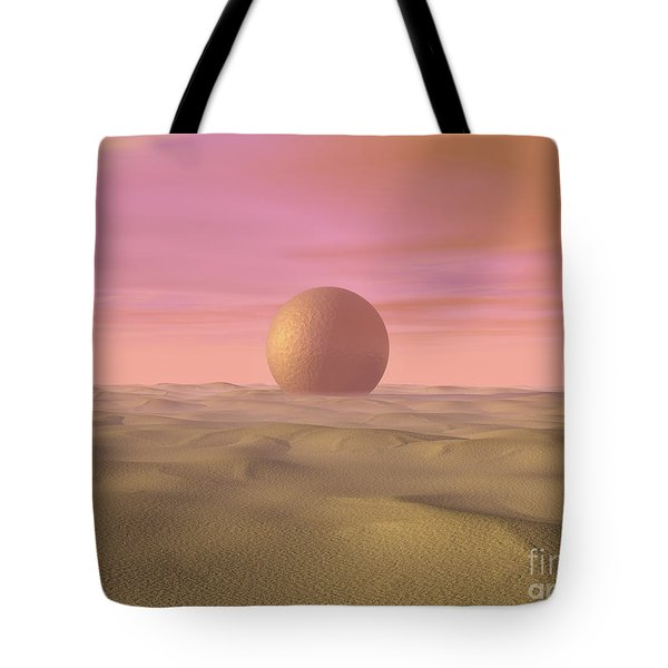 Desert Dream Of Geometric Proportions Tote Bag