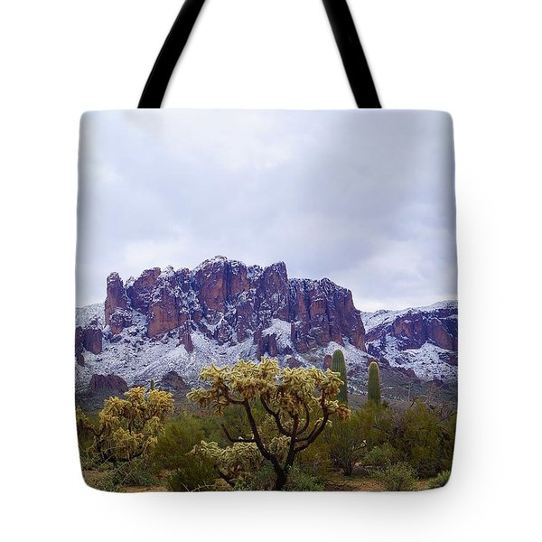 Desert Dusting Tote Bag