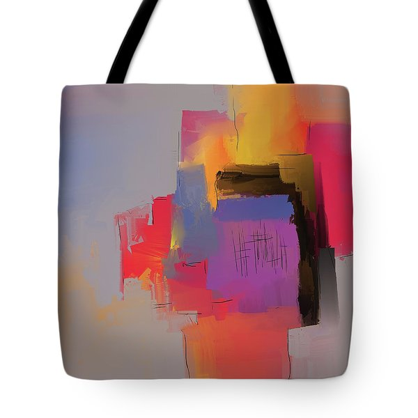 Tote Bag featuring the mixed media Desert Evening by Eduardo Tavares