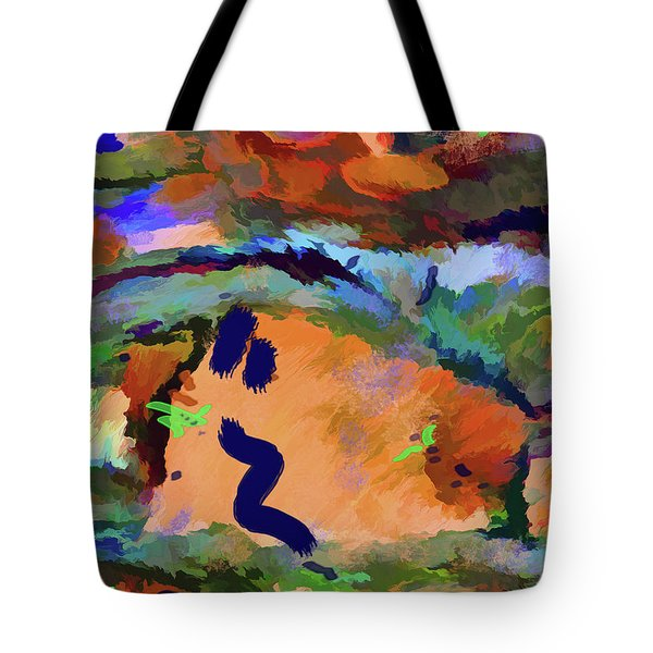 Tote Bag featuring the mixed media Desert Excess by Lynda Lehmann